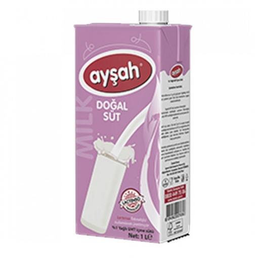 Ayşah Süt %1 Yağlı 1 Lt. resmi