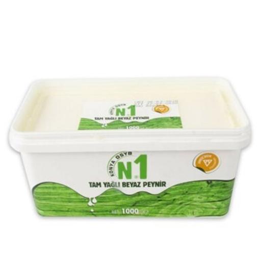 N1 Konya DSYB Peynir Beyaz Tam Yağlı 800 Gr. resmi