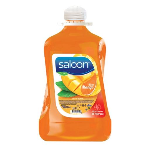 Saloon Sıvı Sabun 3,6 Lt. Taze Mango resmi