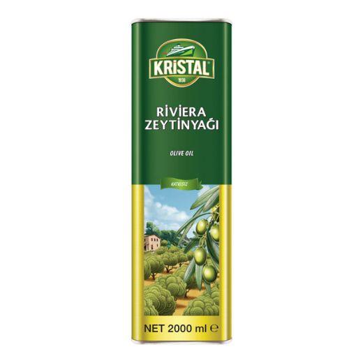 Kristal Riviera Zeytinyağı 2 Lt. Teneke resmi