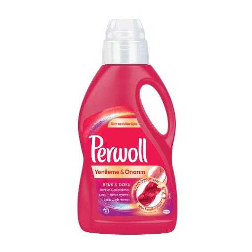 Perwoll 1 Lt. Yenileme & Onarım Renkli 16 W resmi
