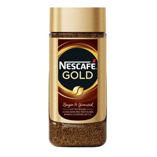 Nescafe Gold Kavanoz 200 Gr. resmi