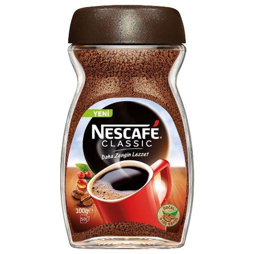 Nescafe Classic Kavanoz 100 GR. resmi