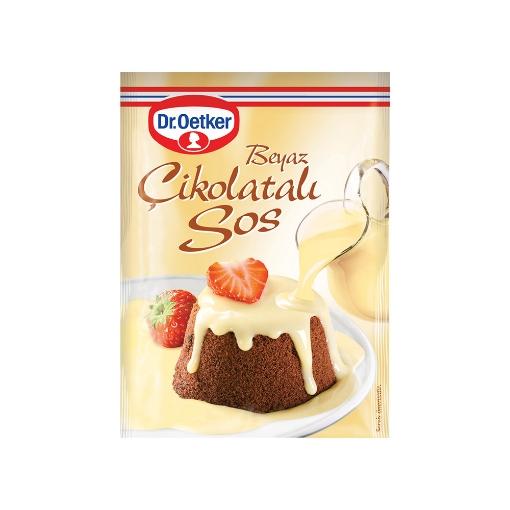 Dr Oetker Beyaz Çikolatalı Tatlı Sos 80 Gr. resmi