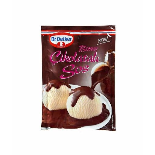 Dr Oetker Bitter Çikolatalı Tatlı Sos 125 Gr. resmi