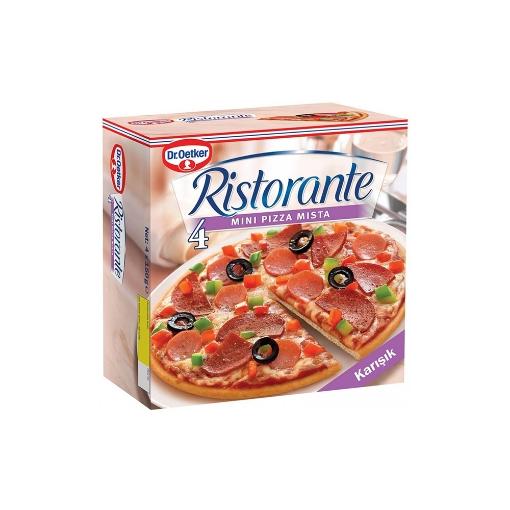 Dr Oetker Mini Mista Pizza 600 Gr. resmi