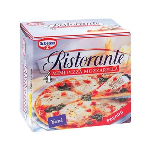 Dr Oetker Mini Mozzarella Pizza 560 Gr. resmi