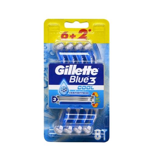 Gillette Blue-3 6+2'li Cool resmi