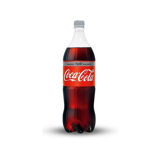 Coca Cola Light Pet 1 Lt resmi