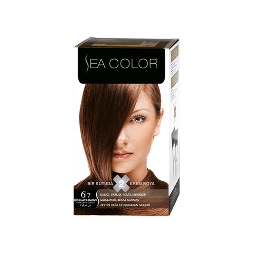 Sea Color Kit 6.7 Çikolata Kahve resmi
