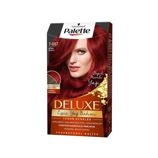 Palette Deluxe Ateş Kızılı resmi