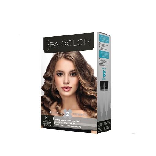 Sea Color Kit 8.1 Küllü Açık Kumral resmi