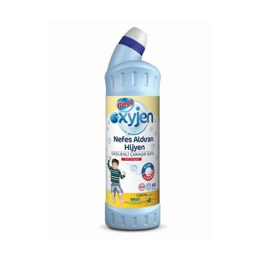 Bingo Çamaşır Suyu Oxygen 750ml. Limon Kokulu resmi