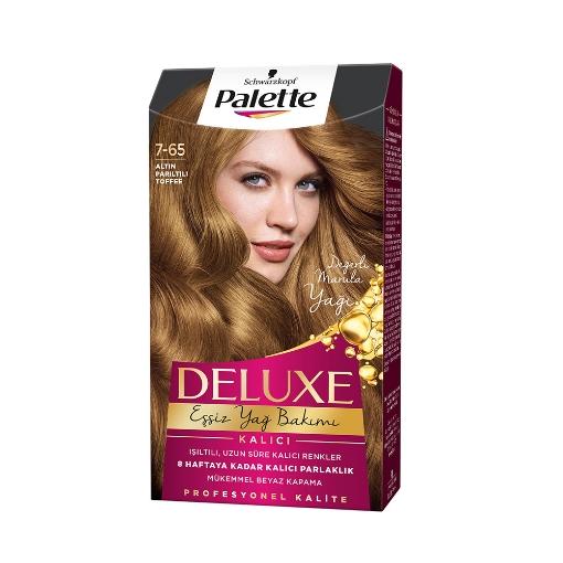 Palette Deluxe Altın Parıltılı Toffee resmi