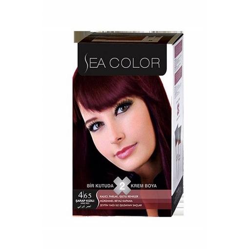 Sea Color Kit 4.65 Şarap Kızılı resmi
