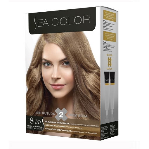Sea Color Kit 8.0 Açık Kumral resmi