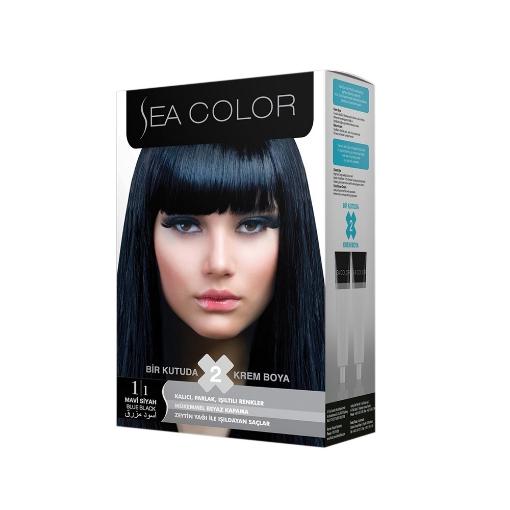 Sea Color Kit 1.1 Mavi Siyah resmi