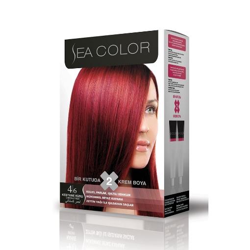 Sea Color Kit 4.6 Kestane Kızılı resmi