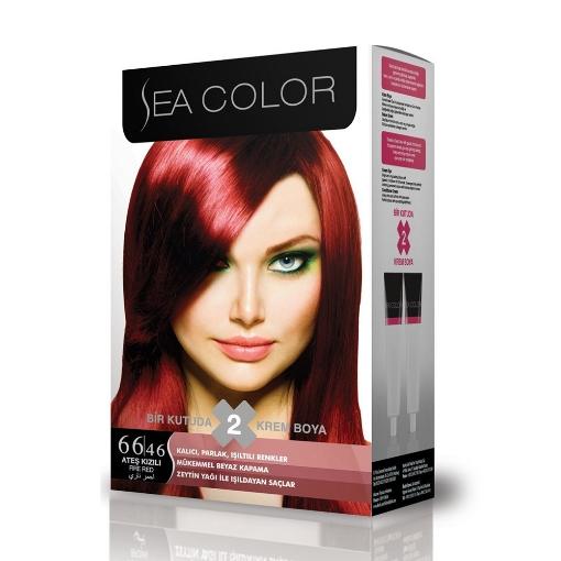 Sea Color Kit 66.46 Ateş Kızılı resmi