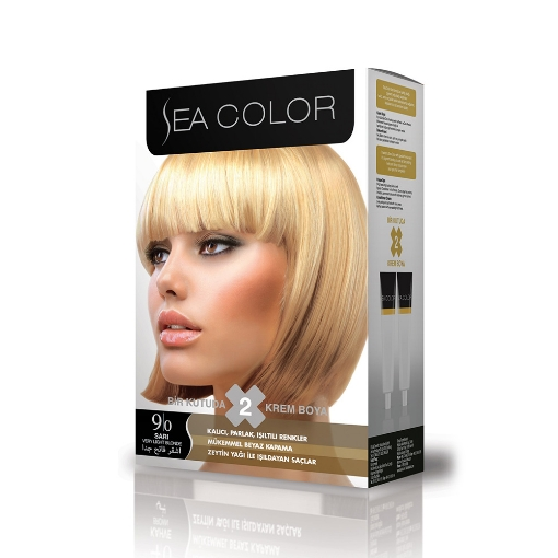 Sea Color Kit 9.0 Sarı resmi