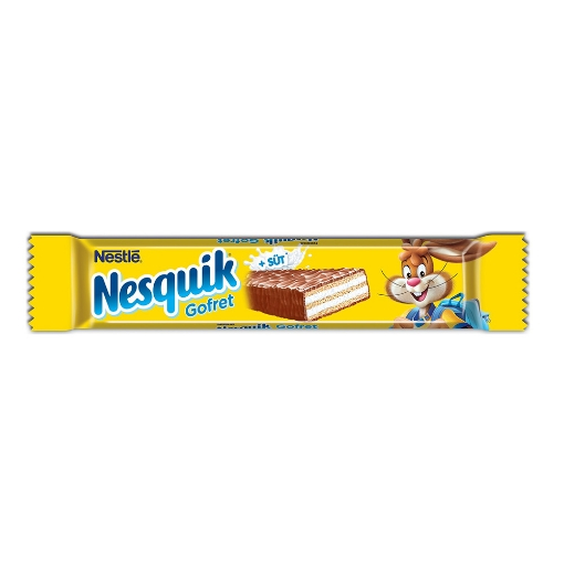 Nesquik Gofret 26,7 Gr. resmi