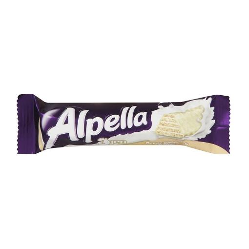 Ülker Alpella 3Gen Gofret Beyaz 28 Gr. resmi