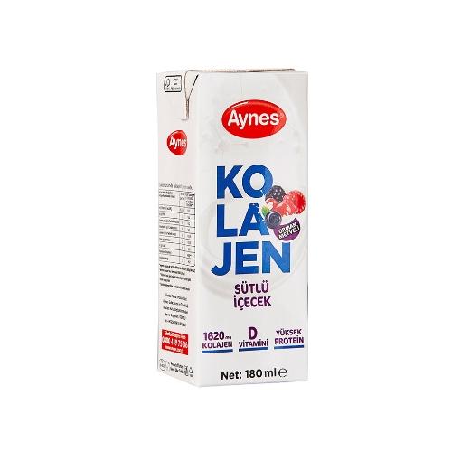 Aynes Süt Kolajen Orman Meyveli 1 Lt. resmi
