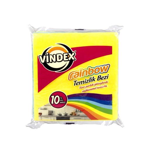 VINDEX TEM.BEZI 10'LU RAINBOW resmi