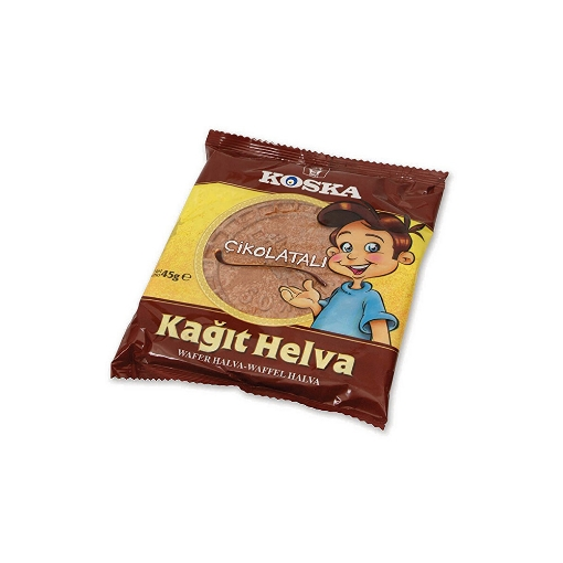 Koska Çikolatalı Kağıt Helva 45 Gr. resmi