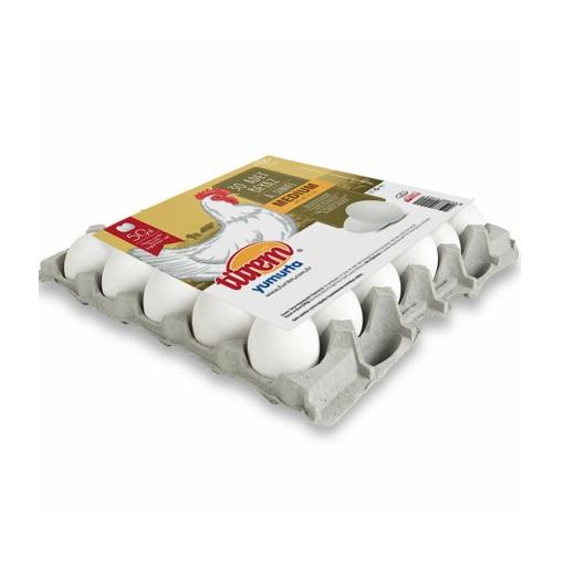 Türem Yumurta Beyaz (M) 30'lu (Kapaklı) resmi