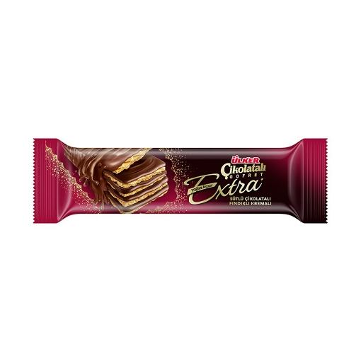 Ülker Çikolatalı Gofret Extra Sütlü 45 Gr. resmi