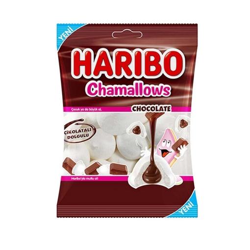 HARIBO CHAMAL. CHOCOLATE 62 GR resmi