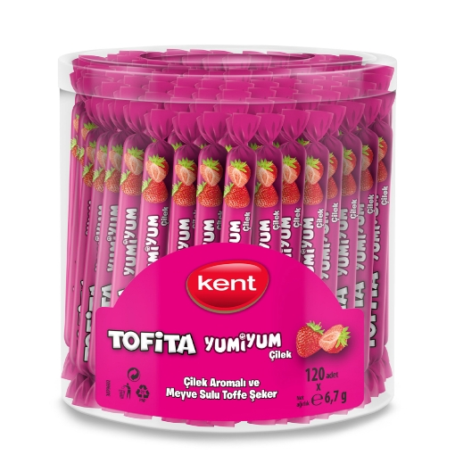 Tofita Yumiyum Çilek 804 Gr. resmi