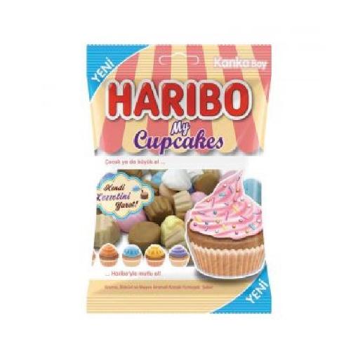 Haribo Cupcakes 80 Gr. resmi
