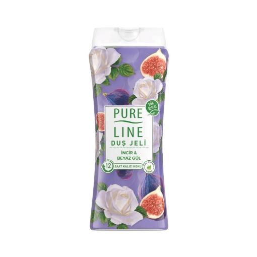 Pure Line Duş Jeli 400 ml. İncir&Beyaz Gül resmi