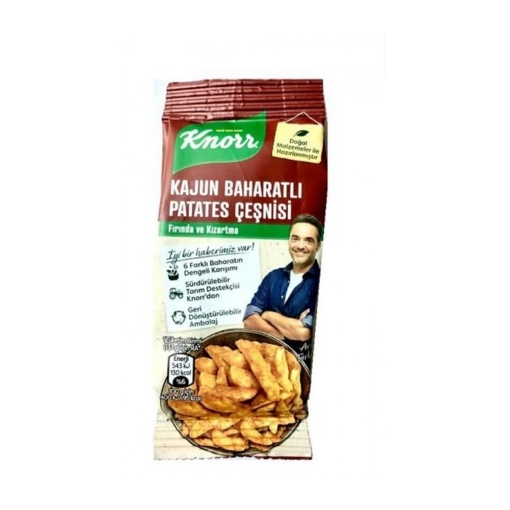 Knorr Kajun Bah. Patates Çeşnisi 60 Gr. resmi