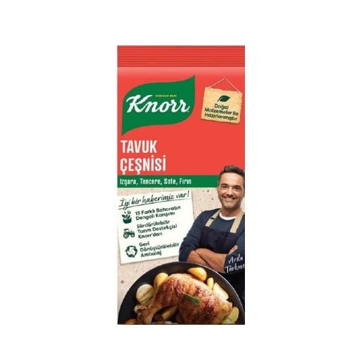 Knorr Tavuk Çeşnisi 60 Gr. resmi