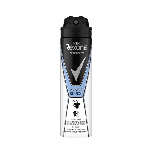 Rexona Deo 150 ml. Men Invisible Ice Fresh Deep resmi