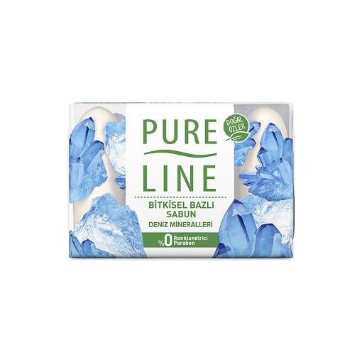 Pure Line El Sabunu 4x70 Gr. Deniz Mineralleri resmi