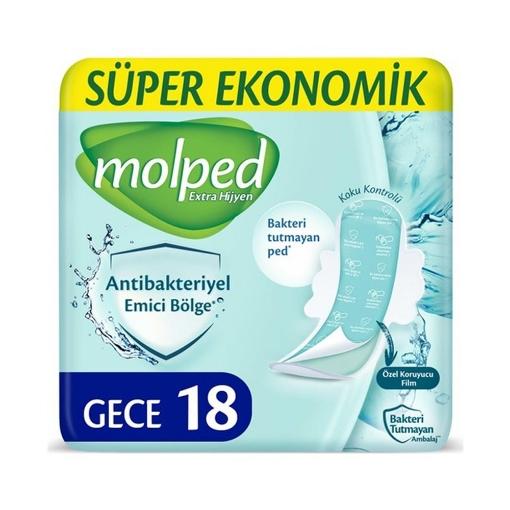 Molped Antibac. Super Eko 18'li Gece resmi